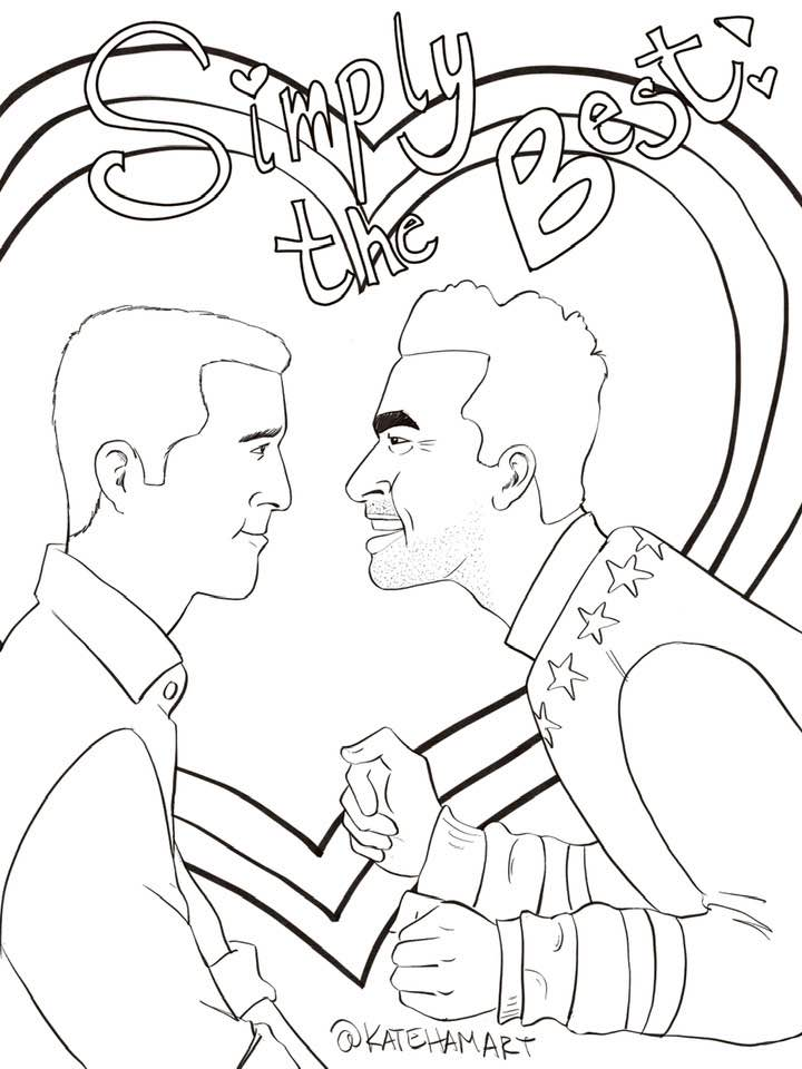 Schitt S Creek Free Printable Coloring Page Coloring Pages Free Printable Coloring Pages Printable Coloring Pages