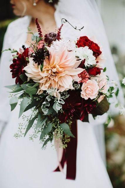 Glamorous Burgundy Wedding Ideas – Fashioncold