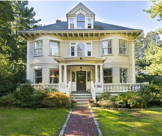 Styles Of Homes In Our Area: One The Area's Most Admired Colonial Revival Homes, This