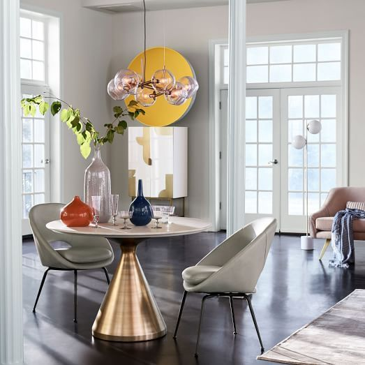 Silhouette Pedestal Dining Table - Round | Pinterest | Pedestal ...