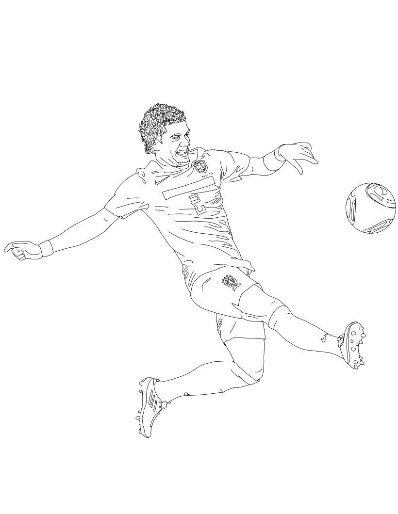 Overhead Kick Soccer Coloring Pages For Kids B9g Printable Soccer Coloring Pages For Kids 축구 스포츠