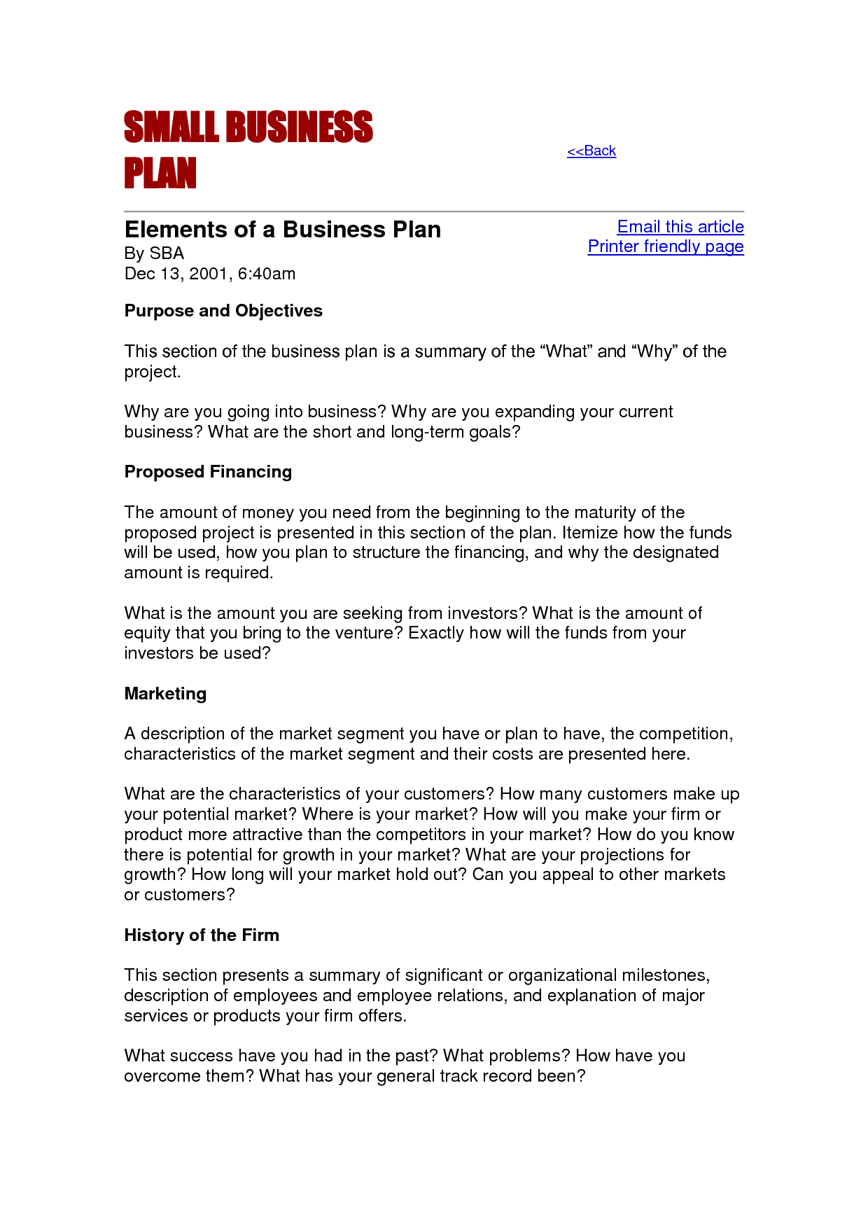 Small Business Proposal Template - building a stronger small ...