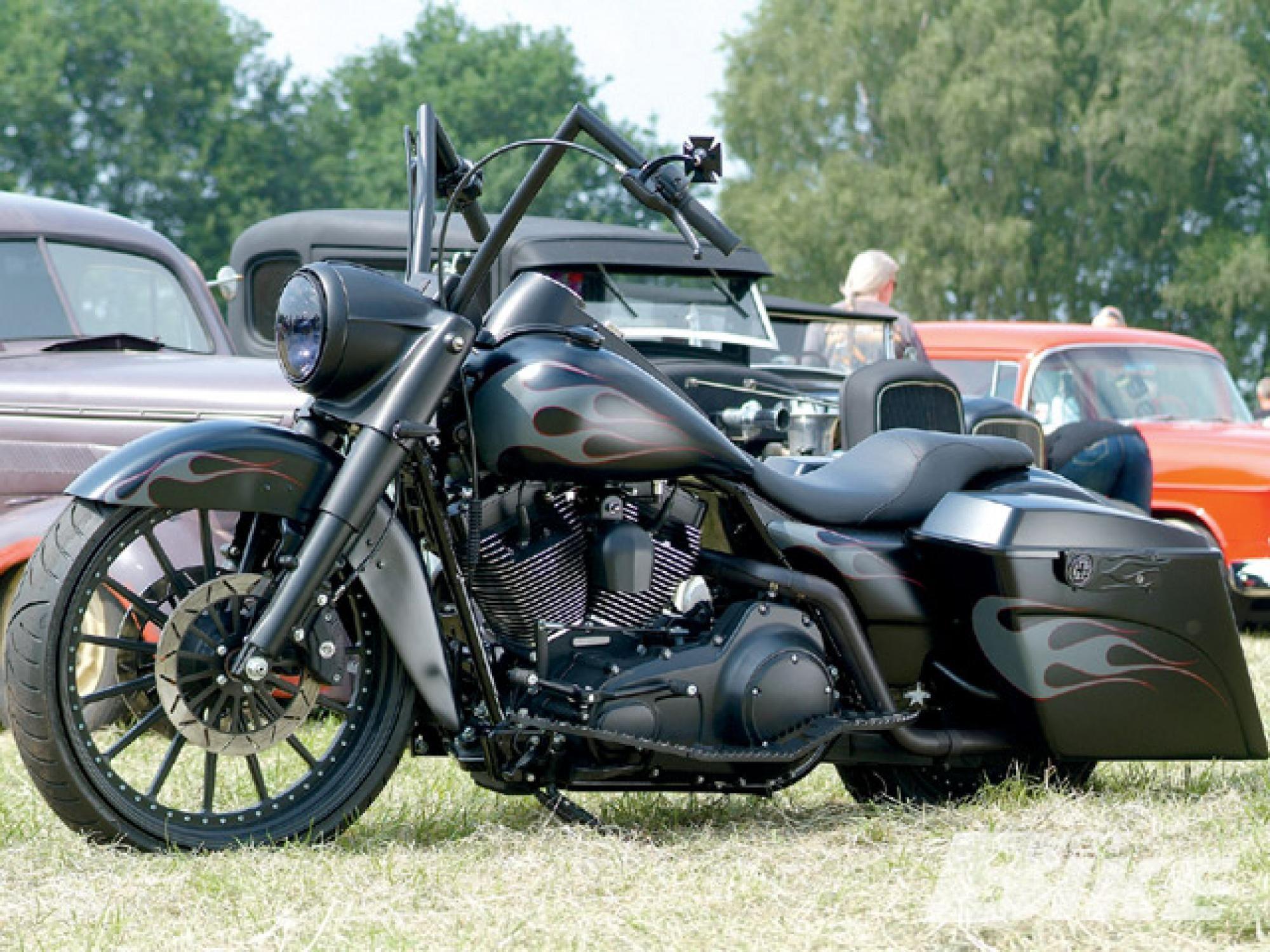 2008 Harley-Davidson Road King - Bad King   Hot Bike