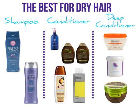 The Best Shampoos And Conditioners For Dry Hair Dry Hair Good