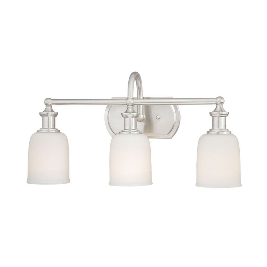 Bathroom Vanity Lights Polished Nickel cascadia lighting 3-light elliot polished nickel bathroom vanity