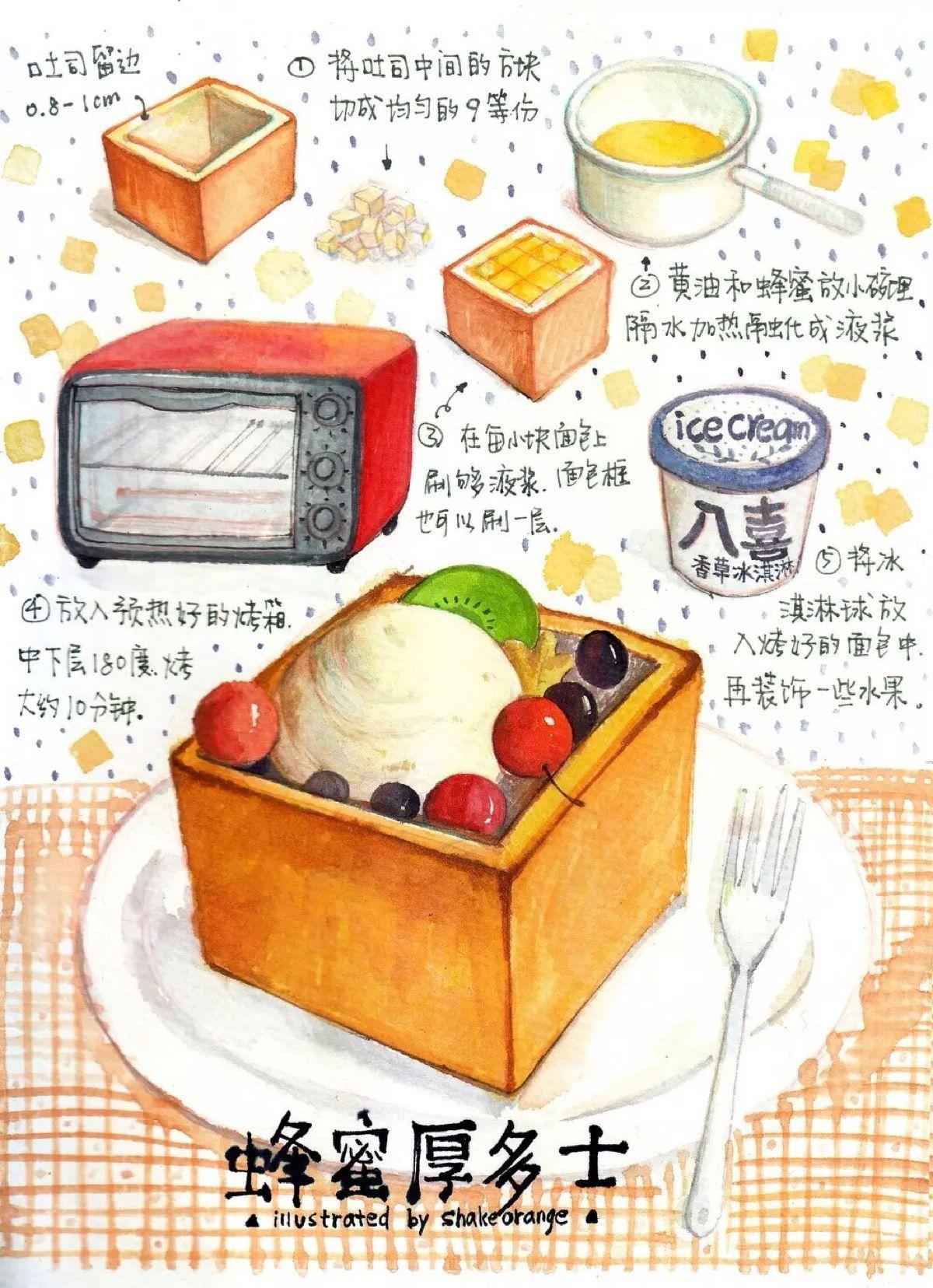 手绘插画美食 - google 搜尋 | 文創 | pinterest | 美食、插画、綺麗な