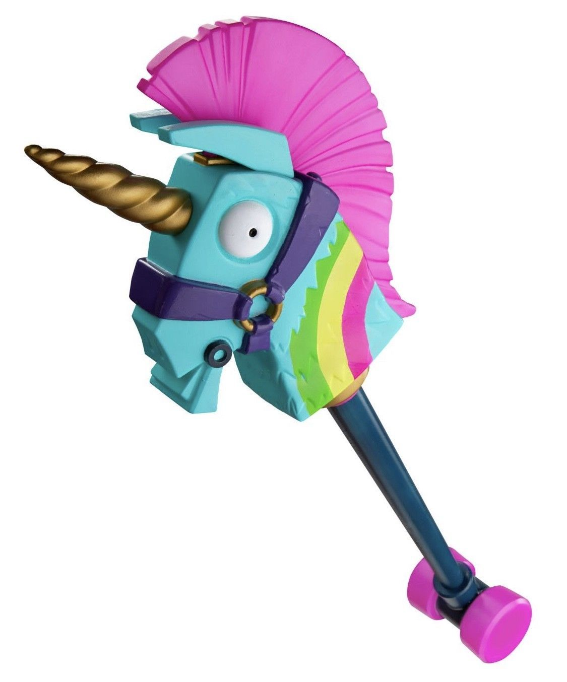 ac16af51cd30a Details about RAINBOW PICKAXE FORTNITE UNICORN 3feet be long in 2019 ...