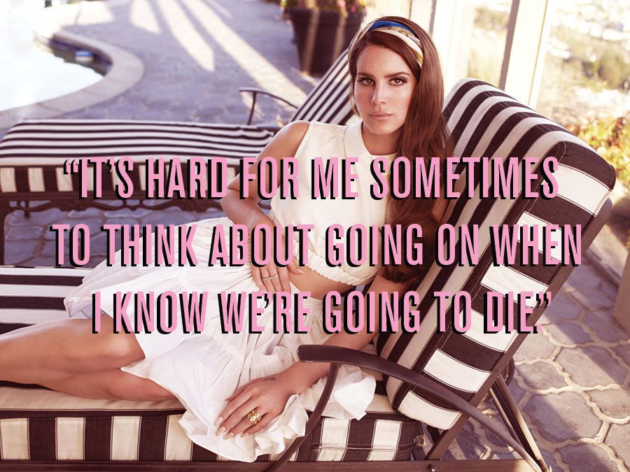 Here Are The Most Lana Del Rey Things Lana Del Rey Has