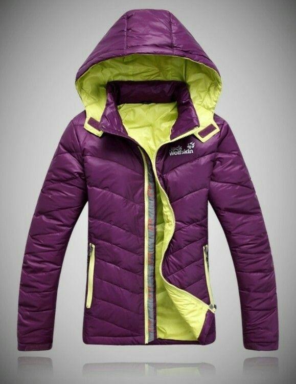 Jack Wolfskin Winter Ski Down Jacket Warm Coat Coats Jackets