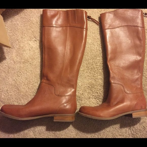 Nine West Counter Boots Nine West Counter - Women's Zip Boots : Dark  Natural Leather :