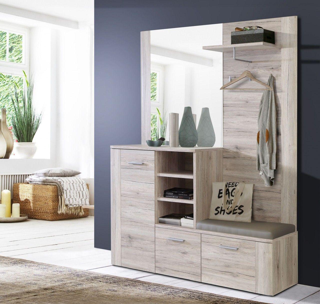 Garderobe Garderobenpaneel Haus Deko Und Kompaktgarderoben
