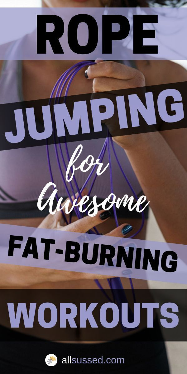 Ultimate Fat-Burning Workouts: Rope Jumping -   19 fitness men cardio