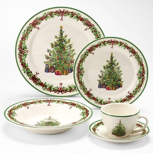 Christopher Radko Christmas Dinner Plates. | X\'mas Luxury ❄η The ...