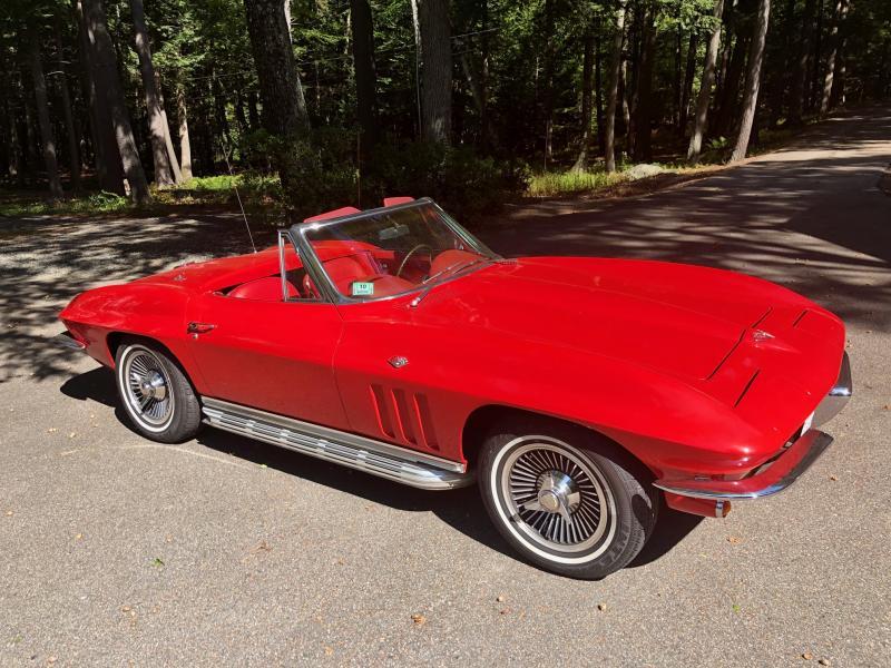 1965 Corvette Convertible For Sale In Massachusetts 65 Corvette Stingray Convertible Corvette Corvette Convertible Chevy Corvette For Sale