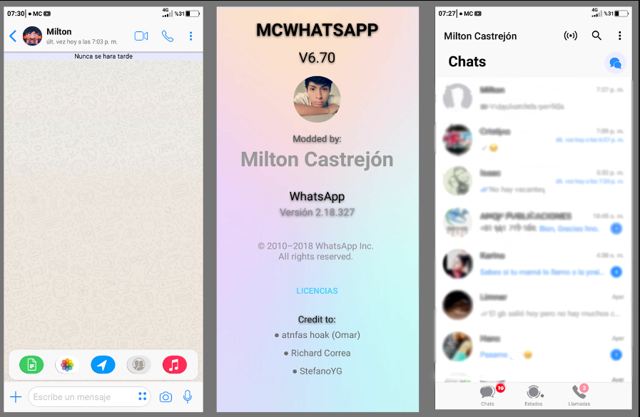 Whatsapp Mod Ios Download Apk - Syam Kapuk | Themes for