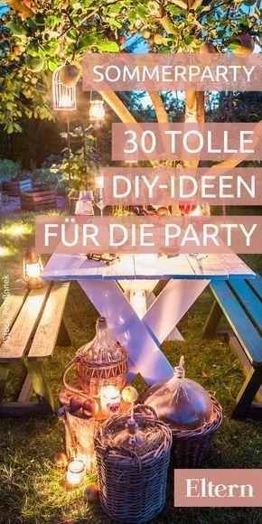 30 kunterbunte ideen f r eine fr hliche sommerparty - Schulfest ideen ...