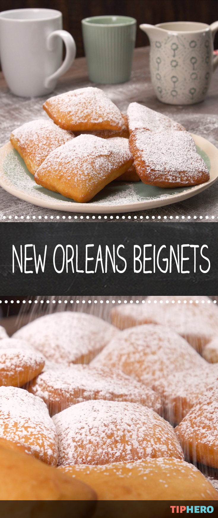 Photo of New Orleans Beignets We'll show you how to make pillowy, powdered sugar-covered …