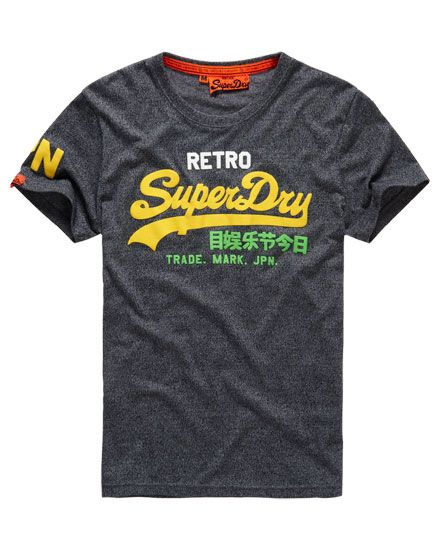 df6f84fc Superdry Vintage Logo Retro T-shirt | roshan | Men, Retro logos ...
