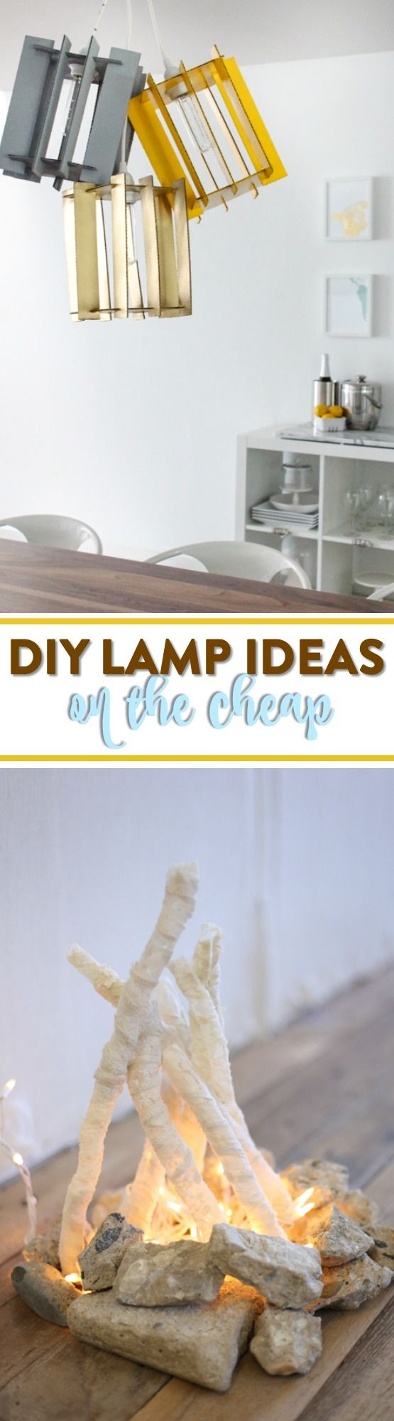 Us teens usually don't have that much money anyway, so it's great when we get creative on a lazy afternoon and end up making something incredible. I hope you enjoy these greatDIY Lamp Ideas for Teen Bedrooms!