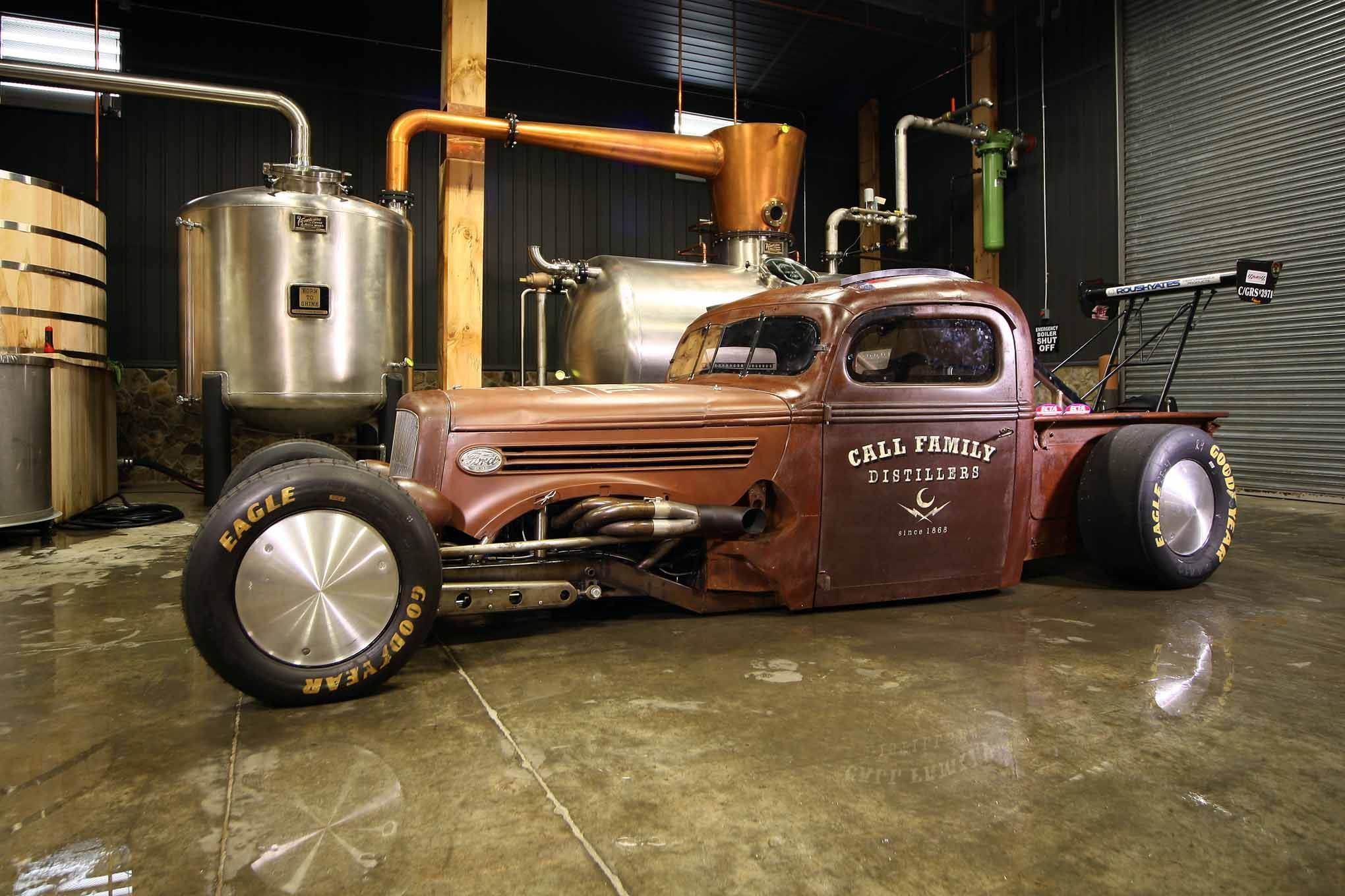The Uncatchable: The Land-Speed Rat Rod Truck - Hot Rod Network ...