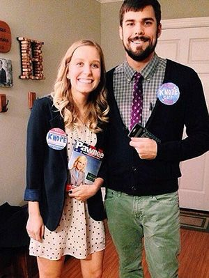 Finding a unique couples costume for Halloween is sometimes more difficult than it needs to be. There are tons of couples out there who are worthy of ...  sc 1 st  Pinterest & 20 Creative DIY TV Show Couple Costumes For You And Bae | Halloween ...
