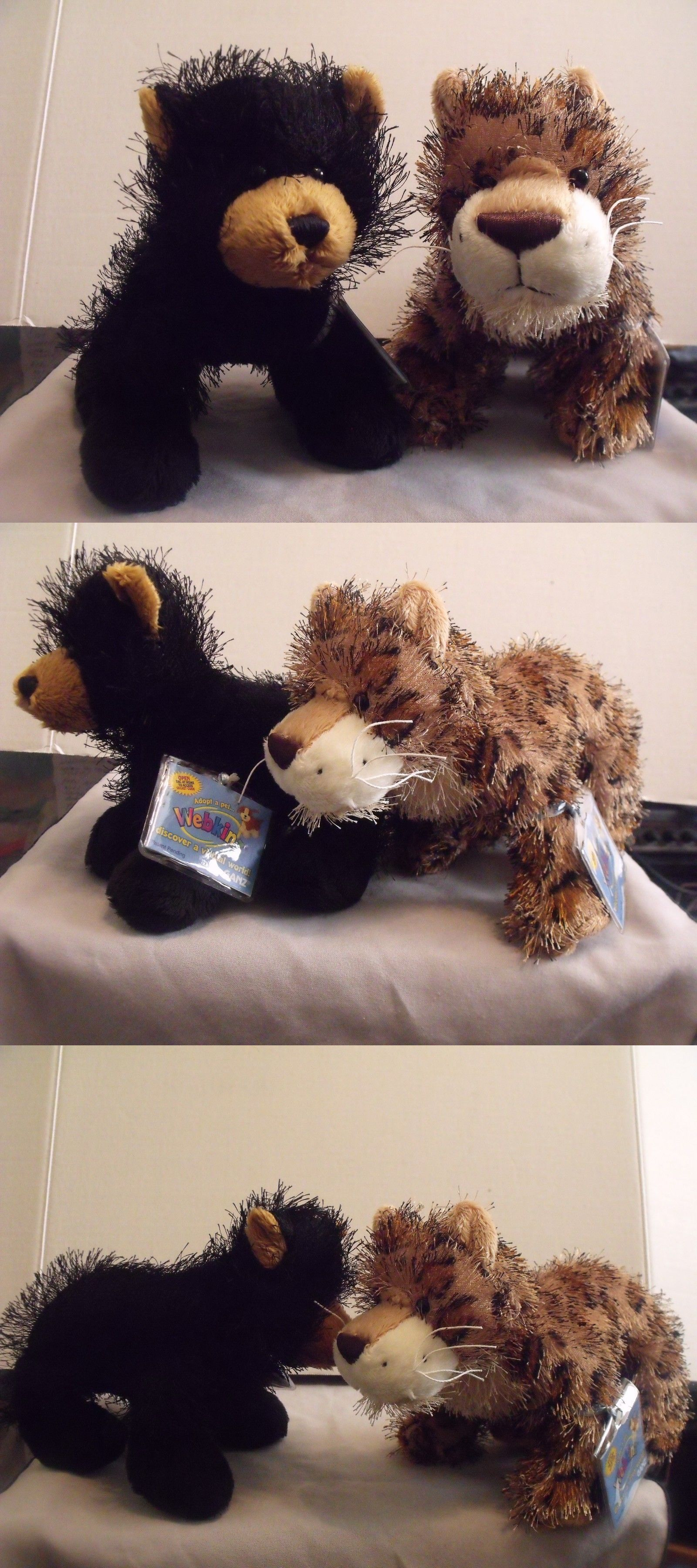 f68546404dfe Other Webkinz and LilKinz 158772: Gantz Webkinz 2 Leopard And Black Bear ->  BUY IT NOW ONLY: $10 on #eBay #other #webkinz #lilkinz #gantz #leopard  #black