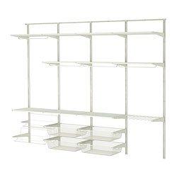 ALGOT Veggskinne/stang/skostativ - IKEA