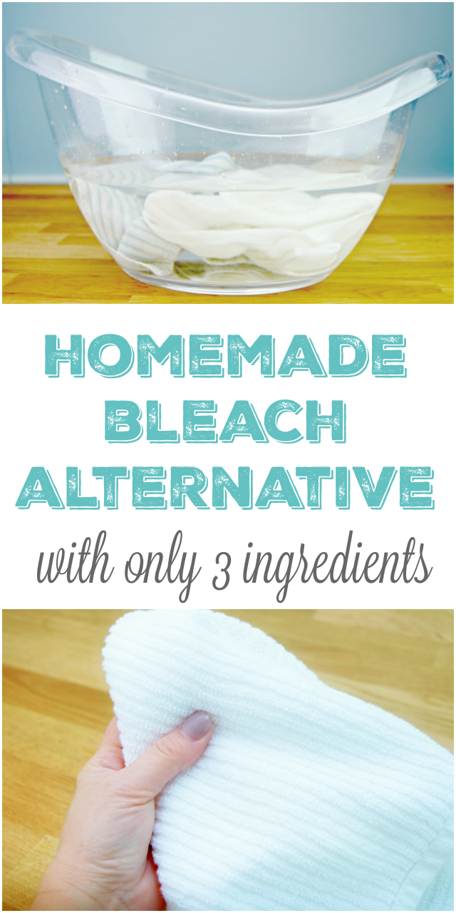 Bathroom cleaner without bleach - 3 Ingredient Homemade Bleach Alternative Whitening Solution Great For Cleaning All Whites Such As