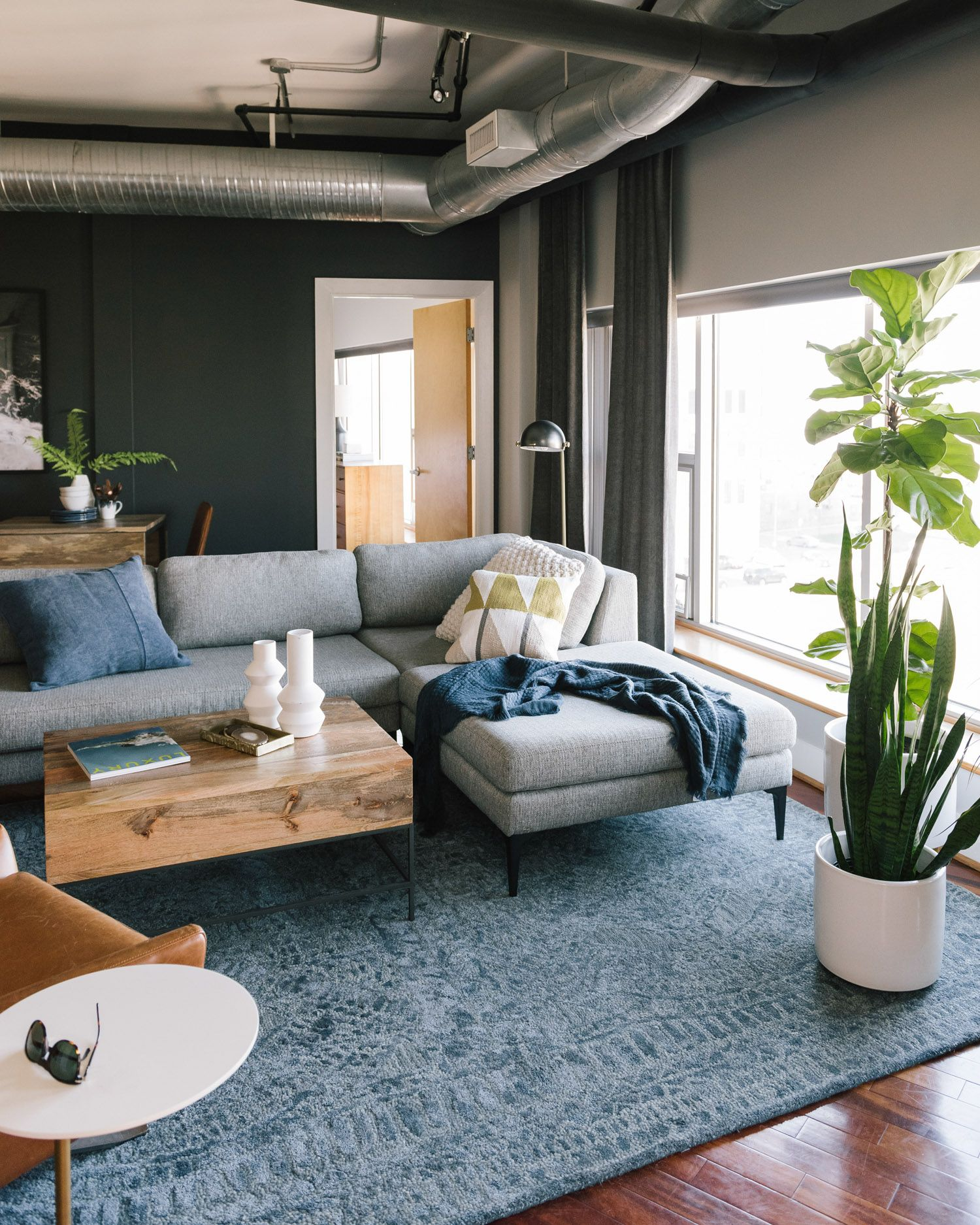Industrial Style Apartment Ideas And Inspiration Hunker In 2020