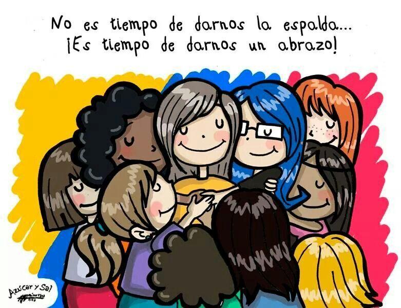 Abrazo Grupal Abrazos Frases Abrazos De Amor Y Frases De