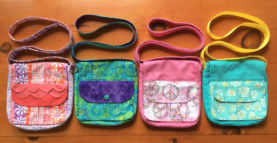 Anne Stockdale\'s purses for Zambia Girls. See sewpowerful.org for ...