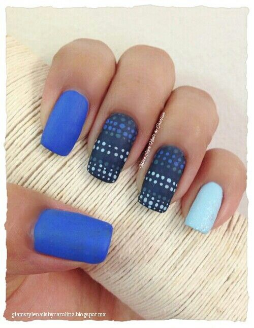 "MATTE BLUE DOTS INSPIRED IN A PILLOW  **FOR DETAILS FOLLOW MY BLOG OR DO ""LIKE"" TO MY FACEBOOK, would be great!! All comments are welcome!!!**"