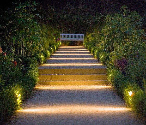 landscape pathway lighting city