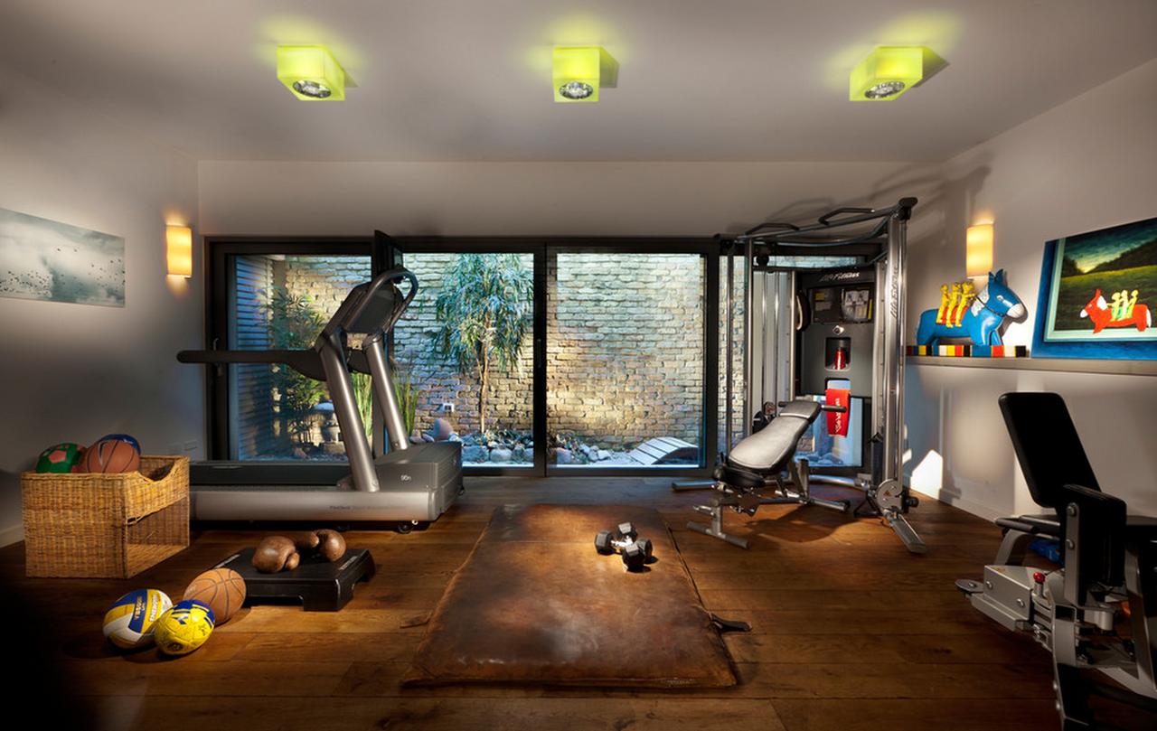 C mo montar tu gimnasio en casa en el blog de living - Gimnasios en casa ...
