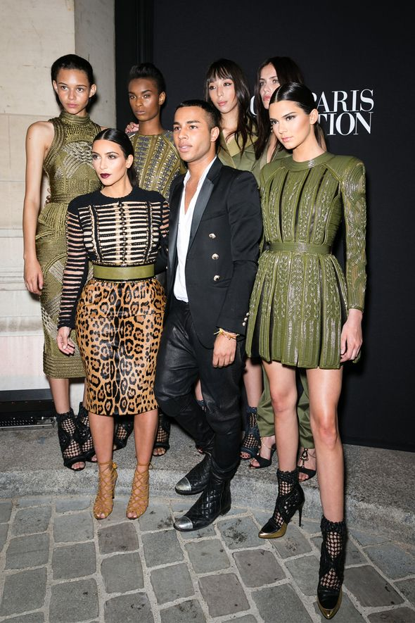 22d579d203 Best Celebrity Balmain Looks - Olivier Rousteing H M Collaboration ...