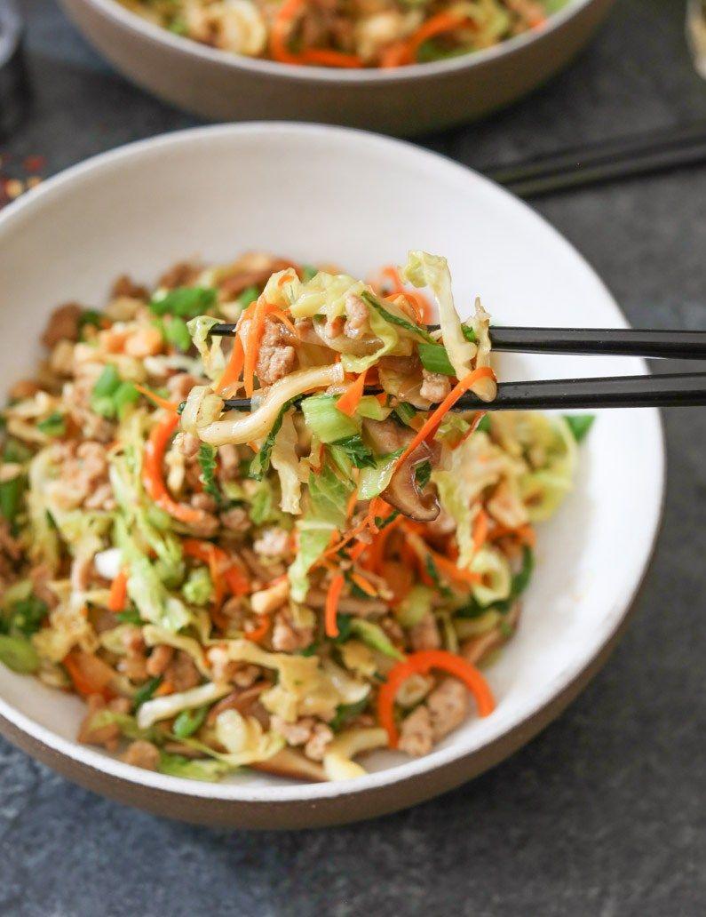 Egg Roll Bowls Recipe Food Recipes Healthy Recipes Food