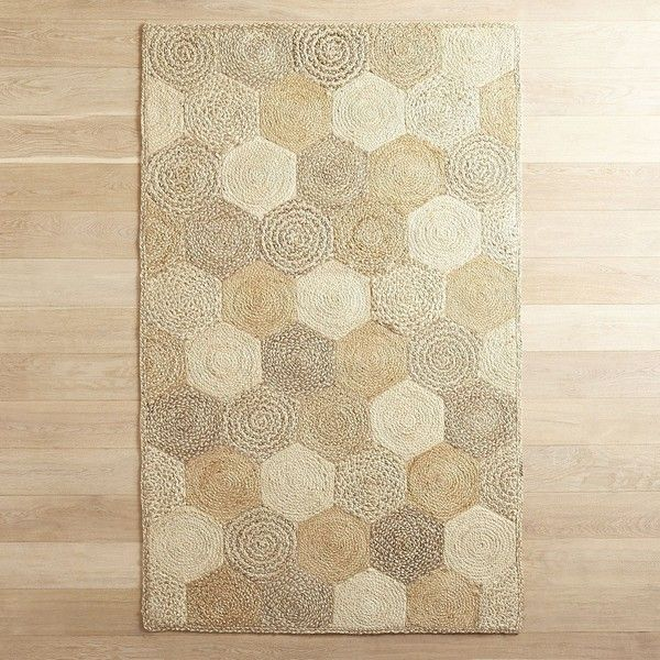 Egan Patch Jute Rug Pier 1 Imports 80 Liked On Polyvore Featuring