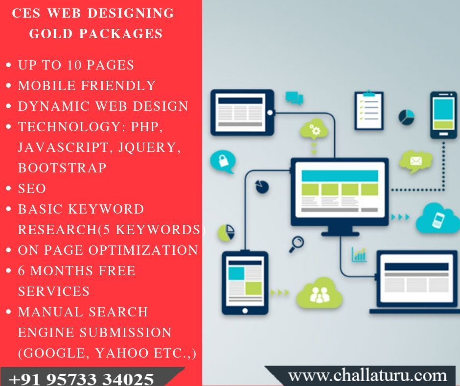 Are You Looking For Web Designing Company In Tirupati Then Ces Is The Correct Choice For Your Website Design Wit Web Design Packages Web Design Website Design
