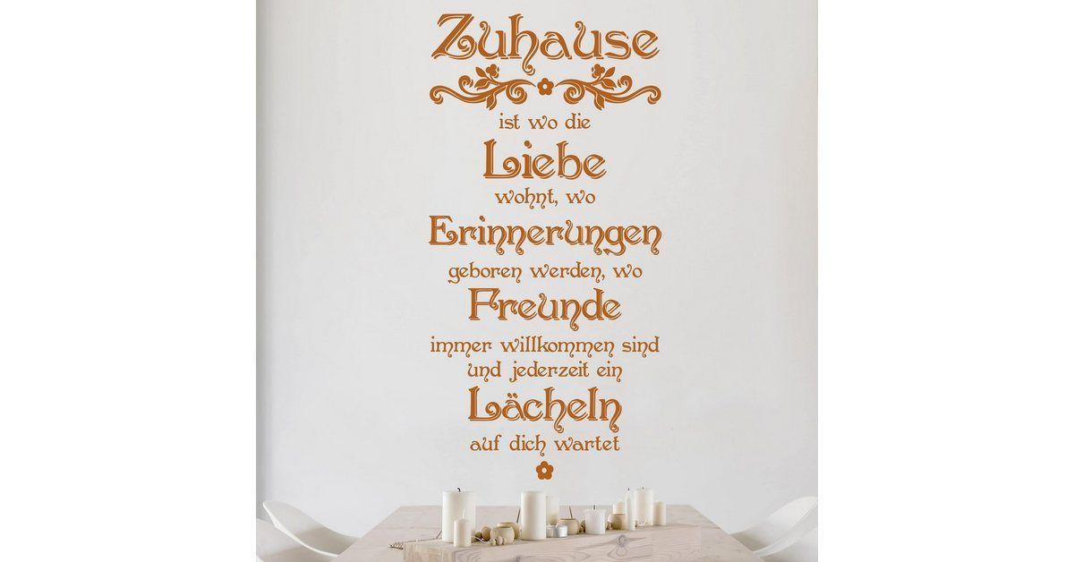 Photo of Wandtattoo »Zuhause«