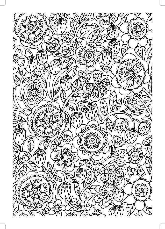Creative Colouring for Grown-ups : Glorious Gardens | Coloring pages ...
