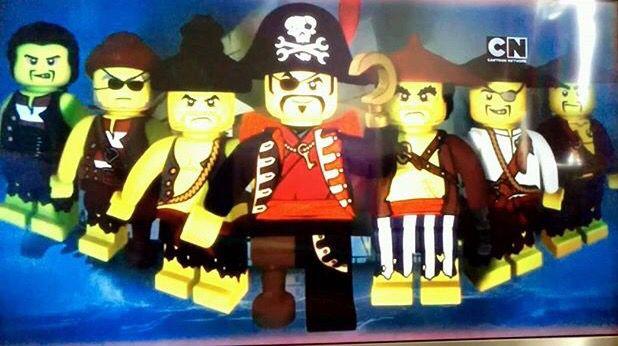 Lego Ninjago Captain Soto