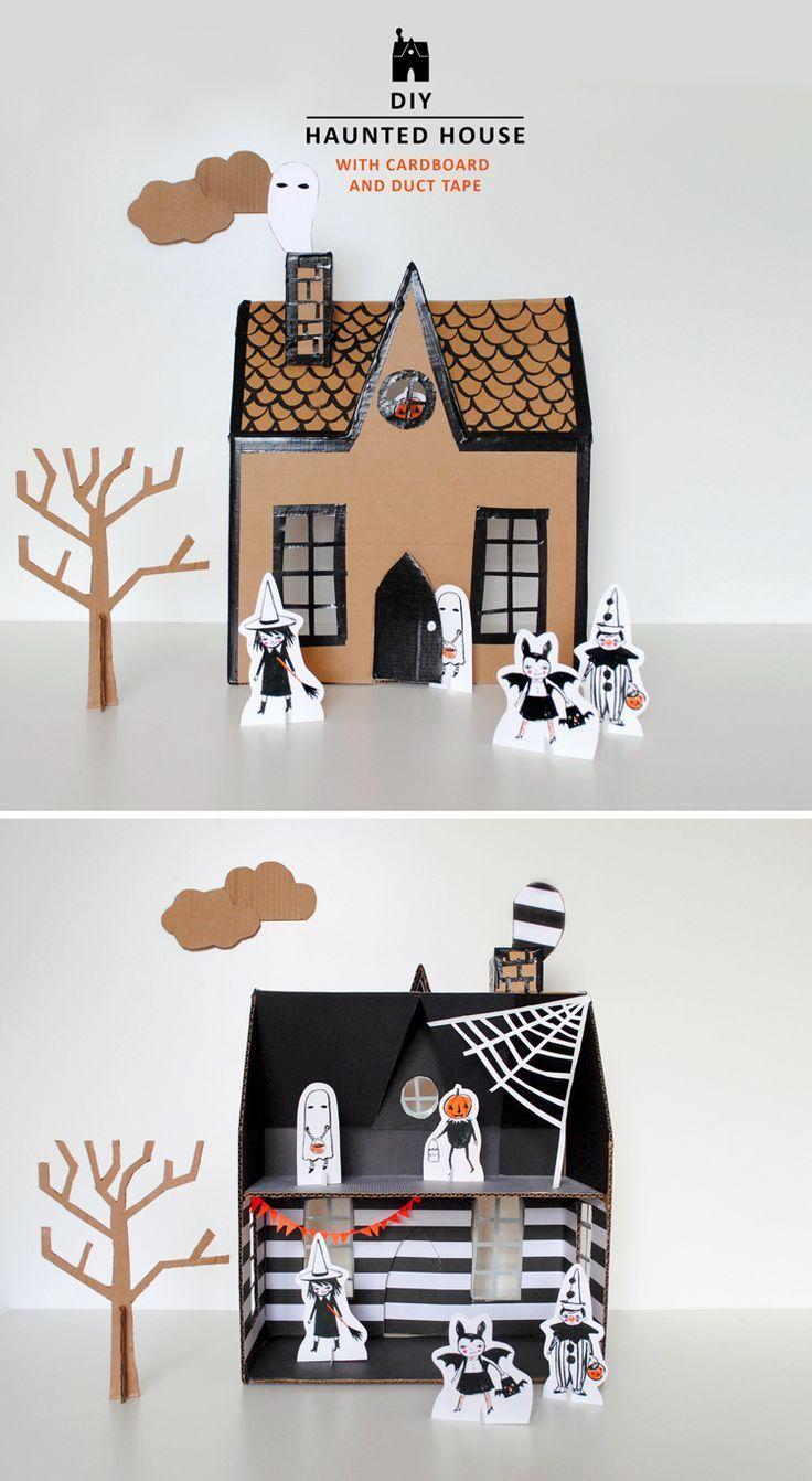 Mer Mag | DIY Haunted House | Kiddie | Pinterest | Haunted houses ...
