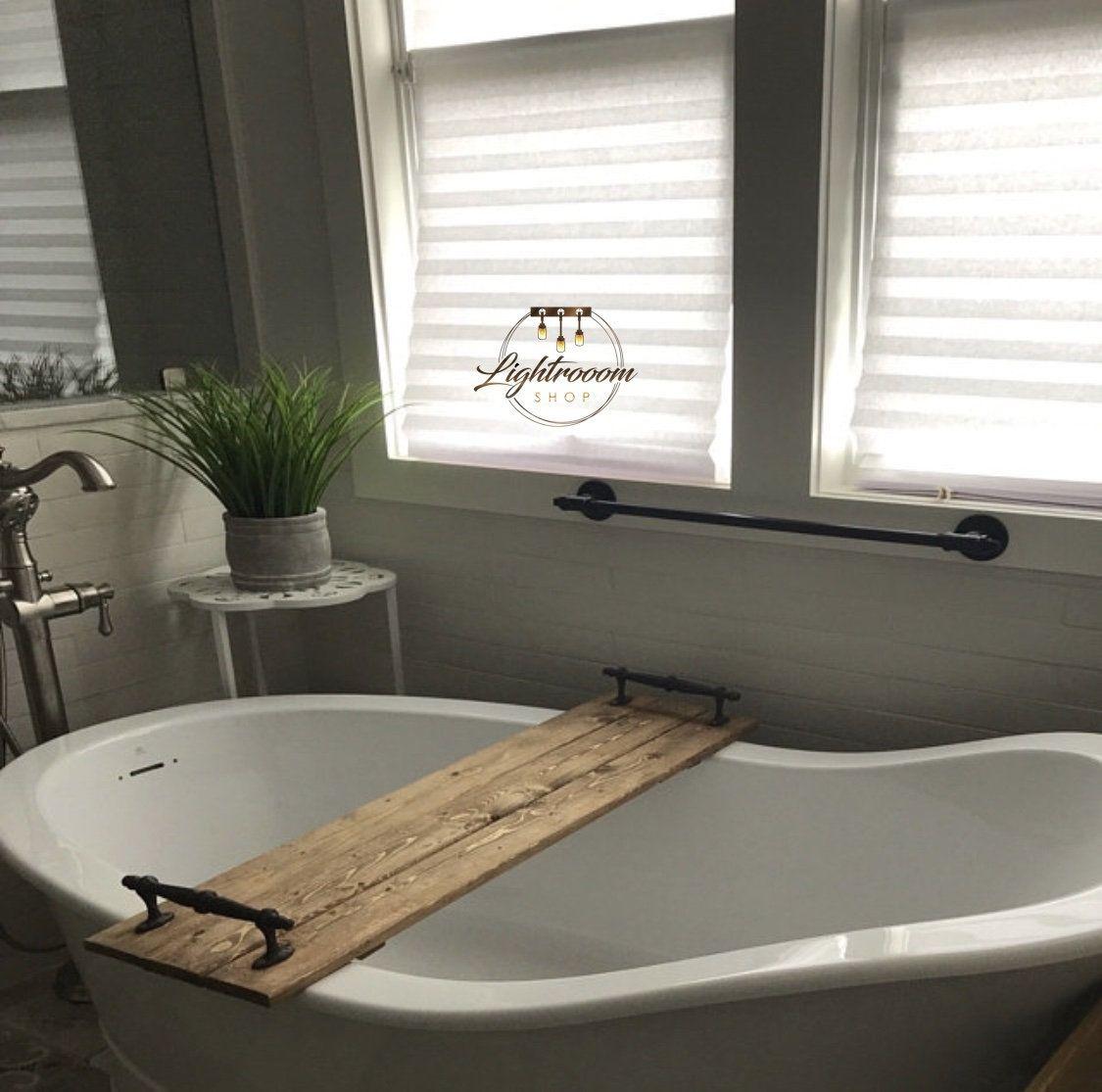 Photo of Towel Holder, Industrial, Modern, Bar Pipe Bathroom, Hardware, Towel Rack, Bathroom Towel Holder, Pipe Fixture, Farmhouse Decor, Unique,Gift
