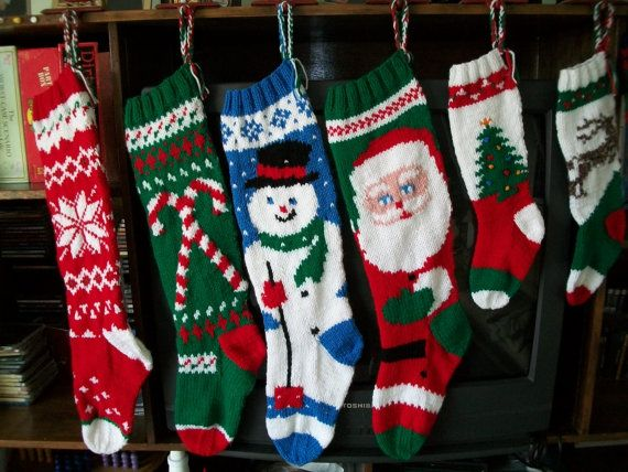 I\'m having these gorgeous stockings custom made for my family this ...