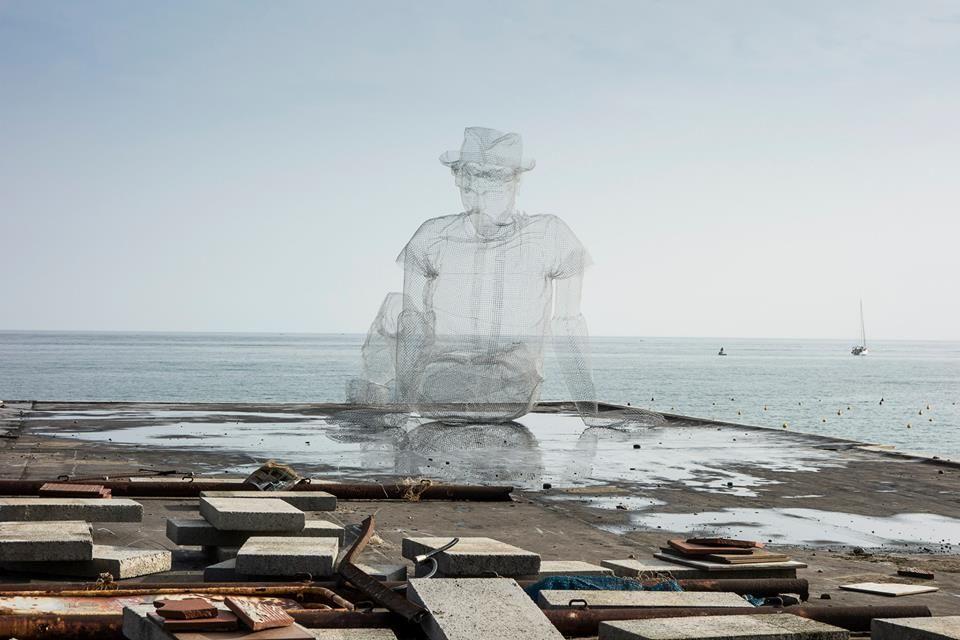 edoardo tresoldi for oltre il muro festival 2014 | Landscape & Urban ...