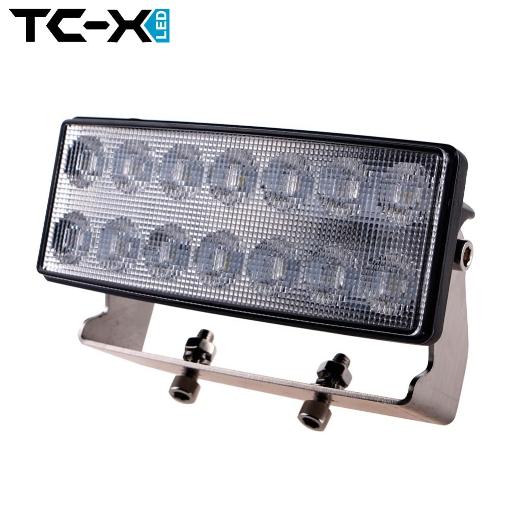 Tc x 4 inch 42w led work light bar flood light headlight for john tc x 4 inch 42w led work light bar flood light headlight for john deere mozeypictures