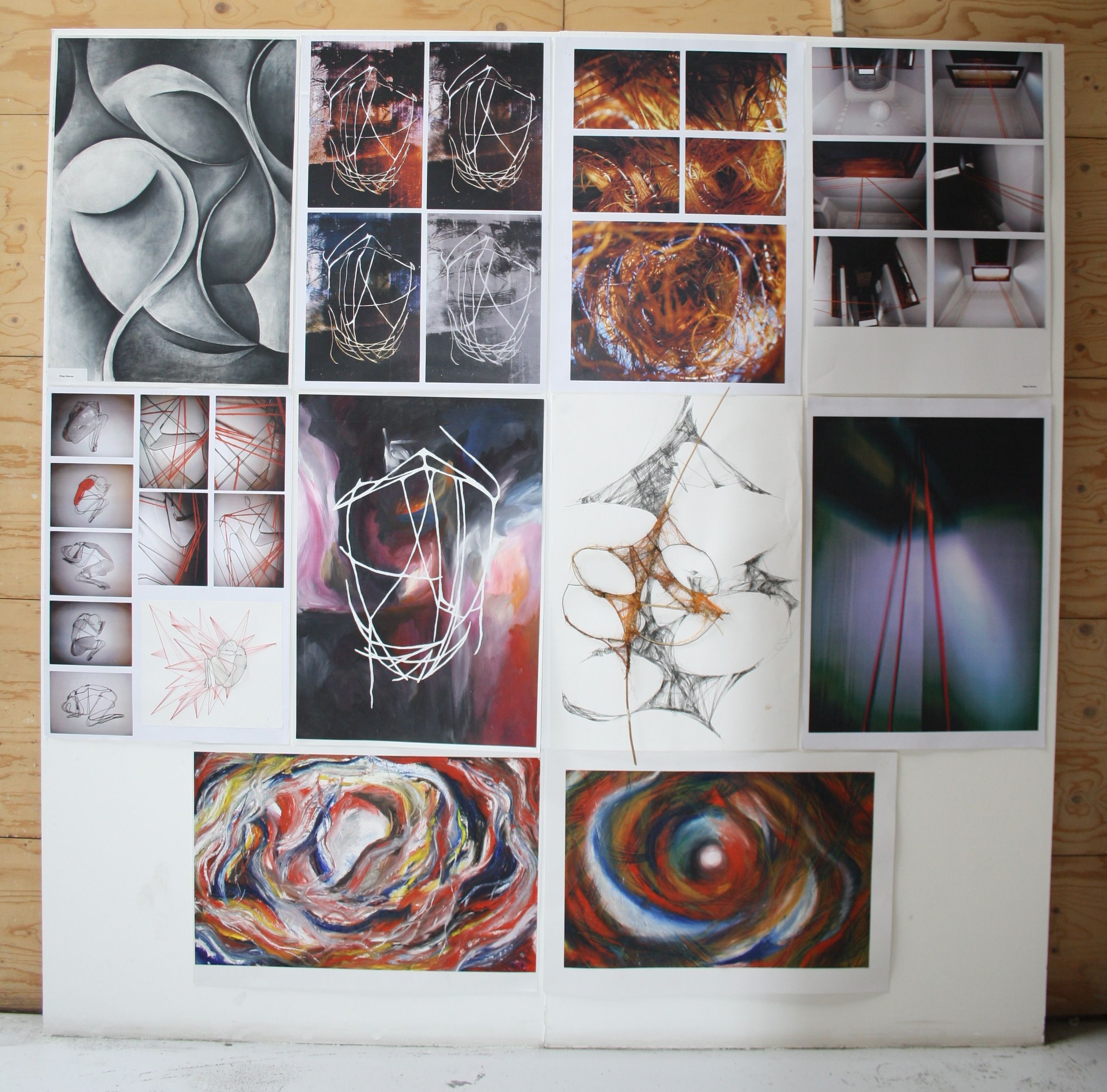 Student work from folio accepted for Newcastle School of ...