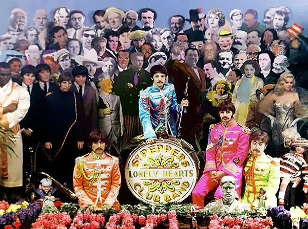 Log In The Beatles Sgt Peppers Lonely Hearts Club Band Beatles Wallpaper