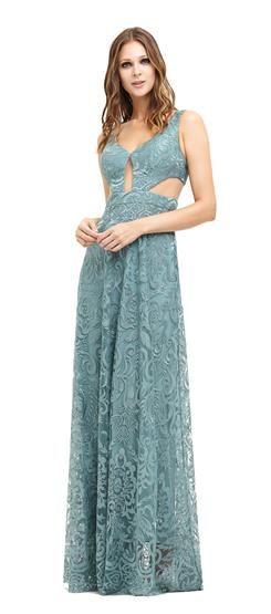 Vestido Recorte na Cintura Campanella
