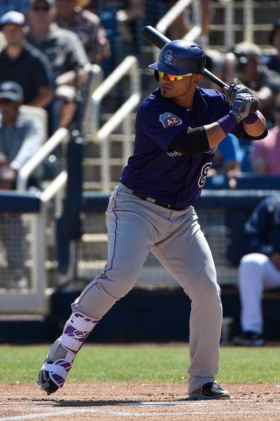 Gerardo Parra Col March 12 2016 V Mil In Phoenix Colorado Rockies Baseball Rockies Baseball Baseball Season
